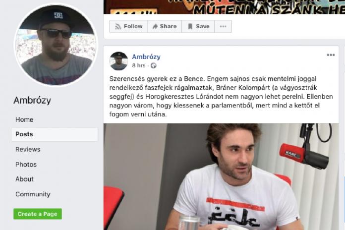 """Verést ígért az Országgyűlés alelnökének a fideszes """"újságíró"""""""