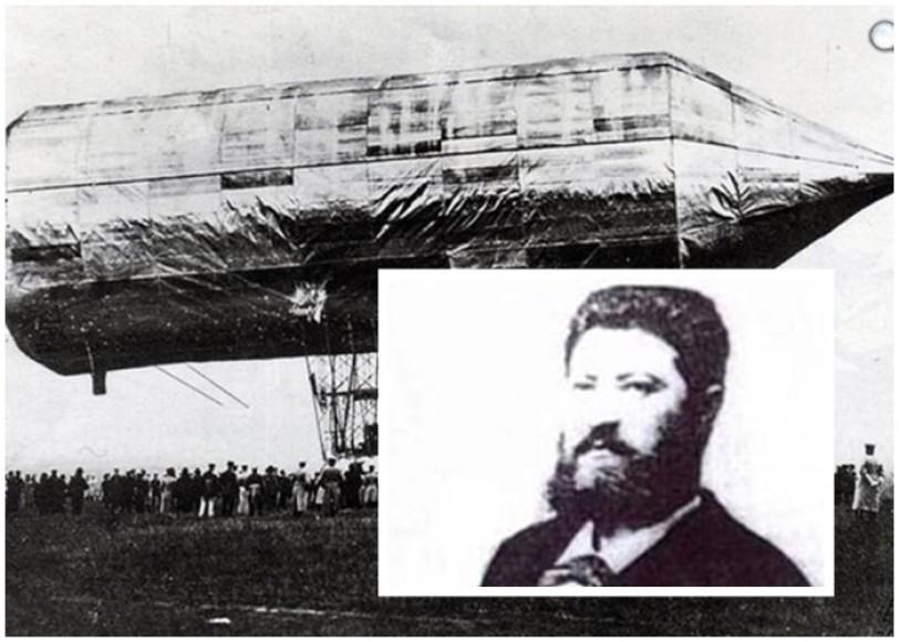 170 éve született Schwarz Dávid, a kormányozható léghajó magyar feltalálója