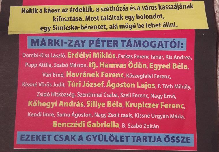 Név szerint listázzák, aki nem a Fideszre szavaz Hódmezővásárhelyen
