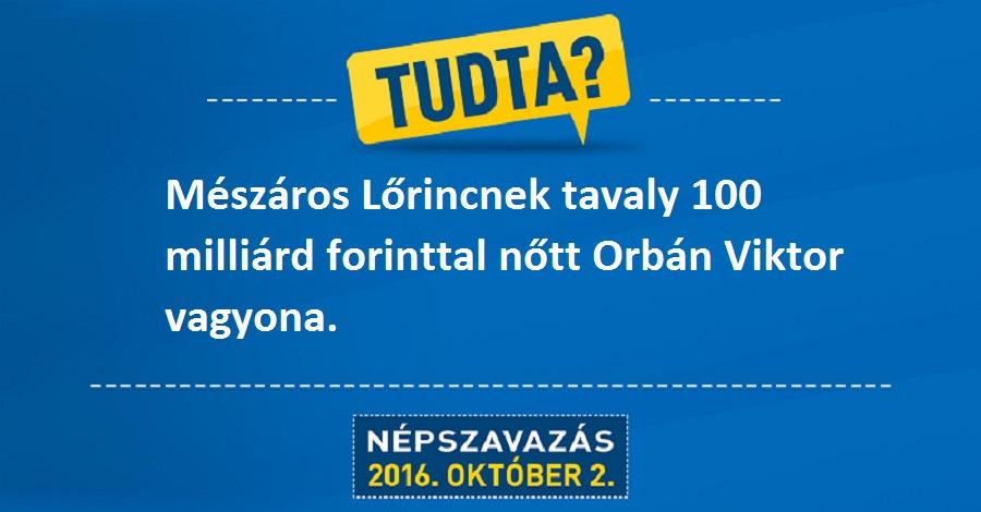 Zsúrpubi - Ennyivel nőhetett Orbán Viktor vagyona